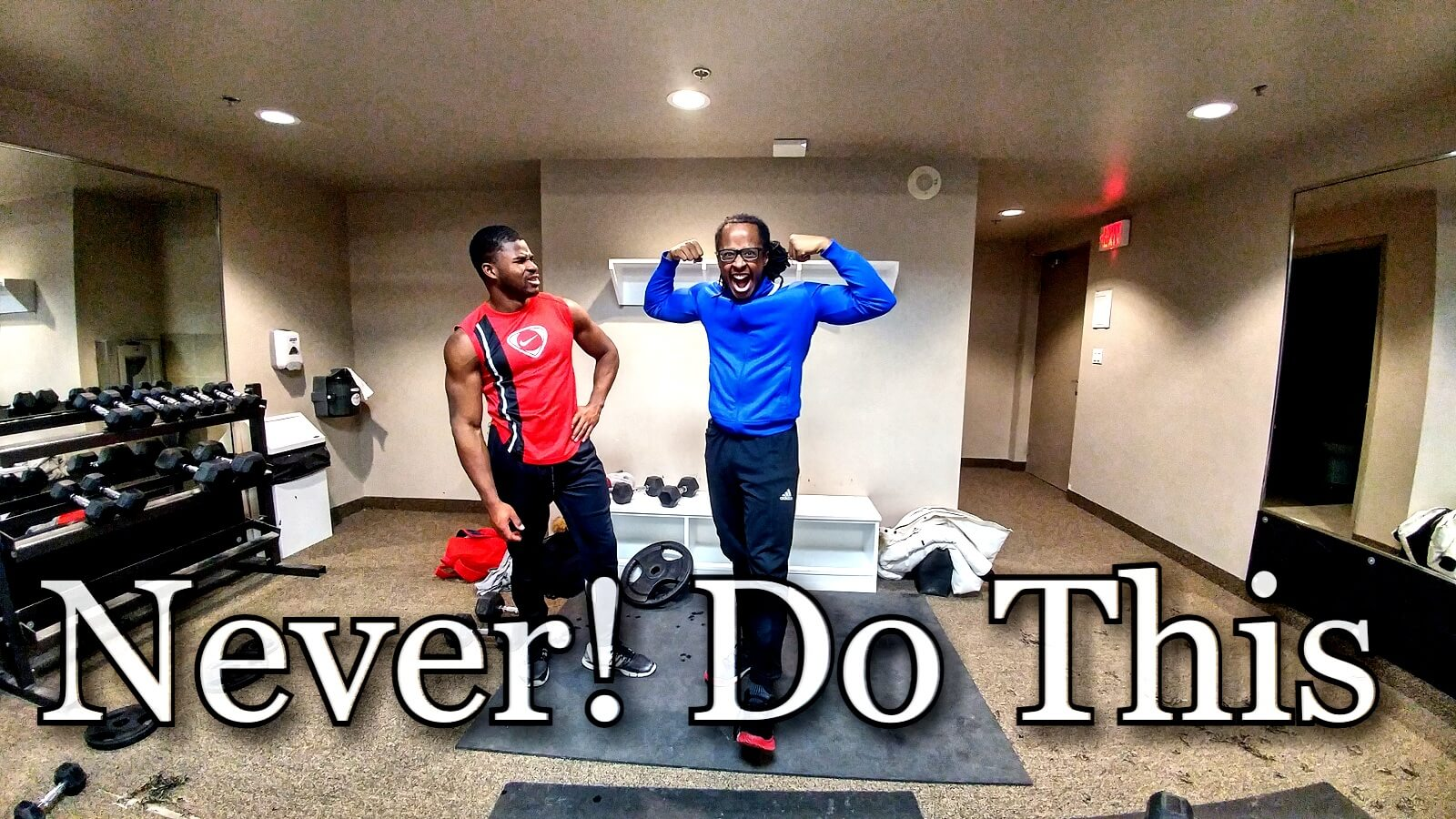 what not to do in the gym kafui fitness